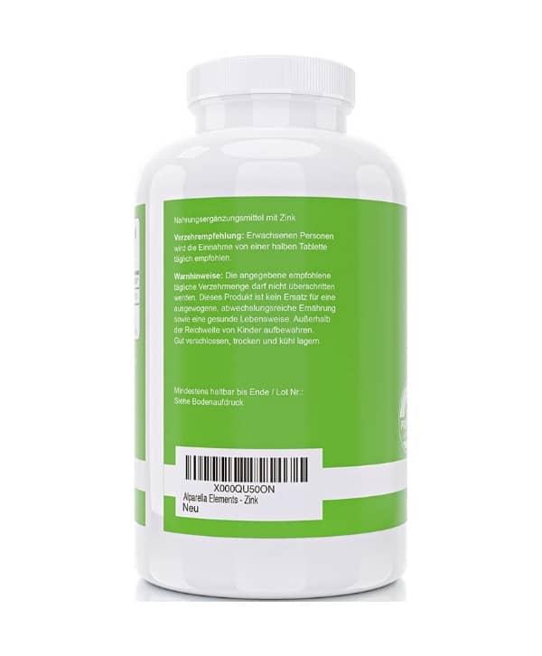 Zinc 50 mg Maroc
