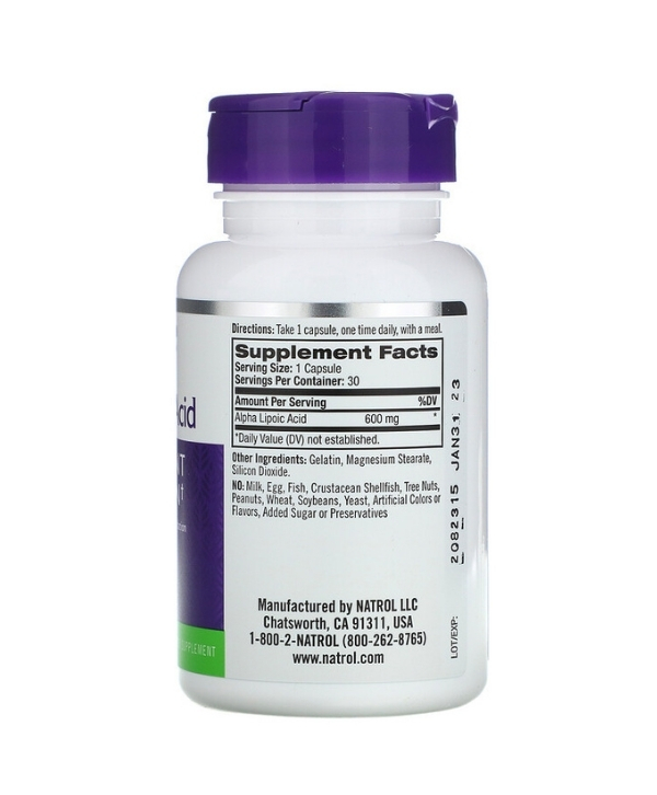 Alpha Lipoic Acid Maroc