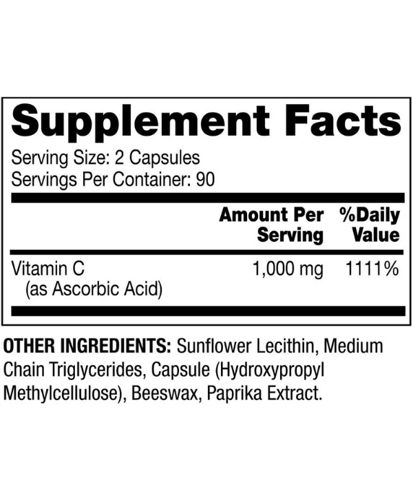 Liposomal Vitamine C Maroc